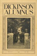 Dickinson Alumnus, May 1931