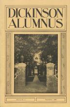 Dickinson Alumnus, September 1931