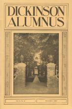 Dickinson Alumnus, November 1931