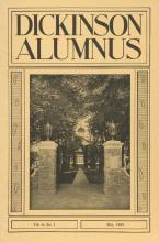Dickinson Alumnus, May 1932