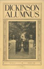 Dickinson Alumnus, September 1932