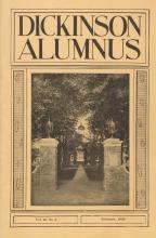 Dickinson Alumnus, February 1933