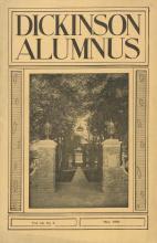Dickinson Alumnus, May 1933