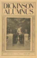 Dickinson Alumnus, December 1933