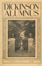 Dickinson Alumnus, May 1934