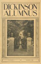 Dickinson Alumnus, September 1934