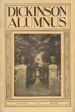 Dickinson Alumnus, May 1935