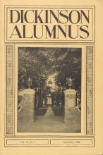 Dickinson Alumnus, September 1936