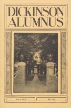 Dickinson Alumnus, May 1937