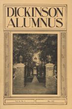 Dickinson Alumnus, May 1939