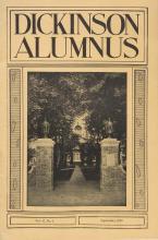 Dickinson Alumnus, September 1939