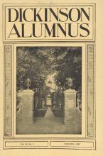 Dickinson Alumnus, September 1940