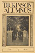 Dickinson Alumnus, May 1941