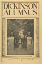 Dickinson Alumnus, September 1941