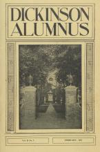 Dickinson Alumnus, February 1957