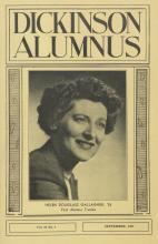 Dickinson Alumnus, September 1957