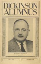 Dickinson Alumnus, December 1957
