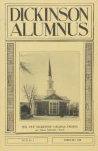 Dickinson Alumnus, February 1958