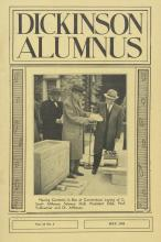 Dickinson Alumnus, May 1958