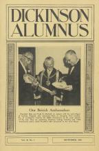 Dickinson Alumnus, September 1958