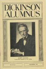 Dickinson Alumnus, September 1959