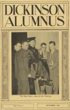 Dickinson Alumnus, December 1959