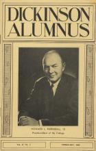 Dickinson Alumnus, February 1960