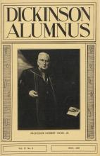 Dickinson Alumnus, May 1960