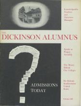 Dickinson Alumnus, February 1965