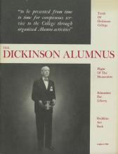 Dickinson Alumnus, August 1965