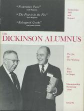 Dickinson Alumnus, Spring 1966