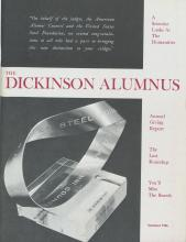 Dickinson Alumnus, Summer 1966