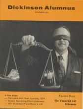 Dickinson Alumnus, November 1974