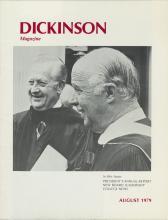 Dickinson Magazine, August 1979