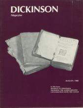 Dickinson Magazine, August 1980