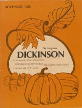 Dickinson Magazine, November 1980