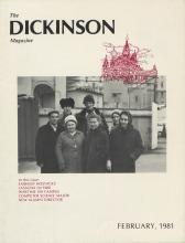 Dickinson Magazine, February 1981