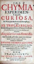 Chymia Experimentalis Curiosa, Ex Principiis Mathematicis demonstrata