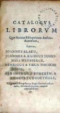 Catalogvs Librorvm Quos Societas Bibliopolarum Amstelodamensium...