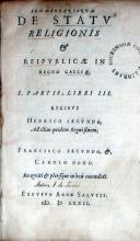 Commentariorum De Statv Religionis & Reipvblicae In Regno Galliae...