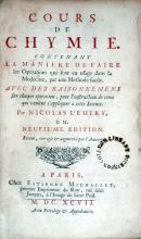 Cours De Chymie. Contenant La Maniere De Faire les Operations...