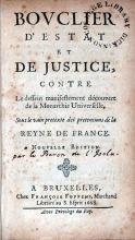 Bovclier D'Estat Et De Justice, Contre Le dessein manifestement...