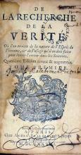 De La Recherche De La Verité..Quatriéme Edition.Tome Premier