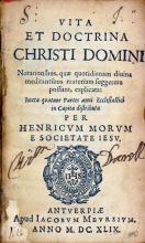 Vita Et Doctrina Christi Domini Notationibus...