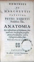 Anatomia: Cui responsiones ad Riolanum, Anatomicum Parisiensem...