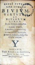 Vitae Hvmanae Bivivm. Virtvtvm. Et Vitiorvm Lineae, Notis Ethicis distinctae