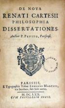 De Nova Renati Cartesii Philosophia Dissertationes