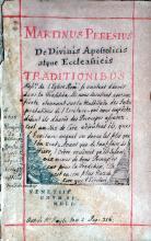 De Divinis Apostolicis atque Ecclesiasticis Tradtionibus