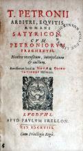 Satyricon, Cvm Petroniorvm Fragmentis