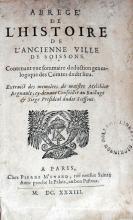 Abregé De L'Histoire De L'Ancienne Ville De Soissons...
